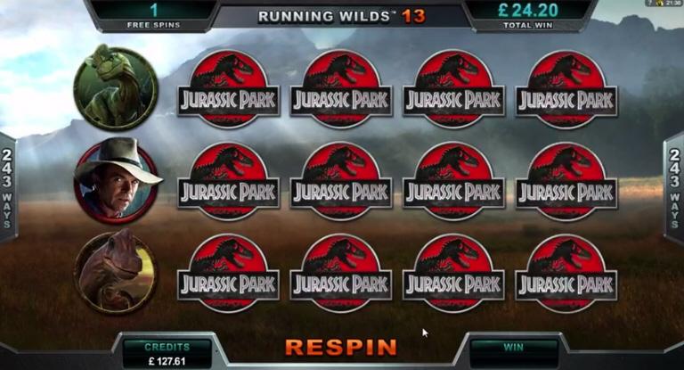 Jurassic Park Big Win