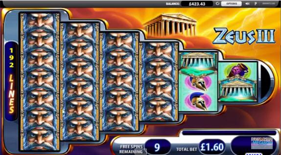 Zeus III Big Win